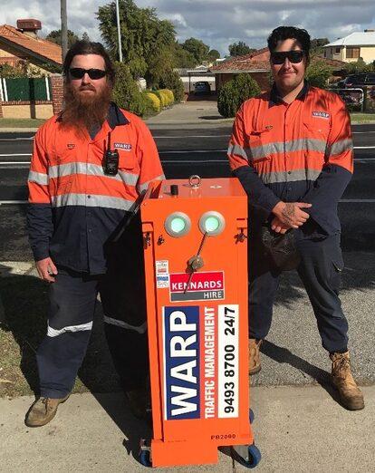 WARP traffic Controllers