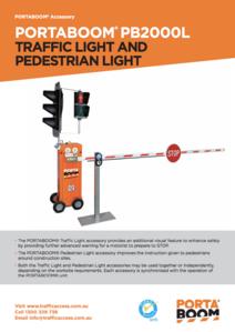 PORTABOOM Traffic Light Brochure
