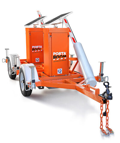 PORTABOOM Mounted Trailer