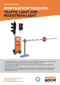 PORTABOOM Traffic Light