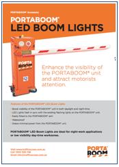 PORTABOOM LED Boom Lights Brochure