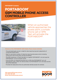 GSM Mobile Phone Access Controll