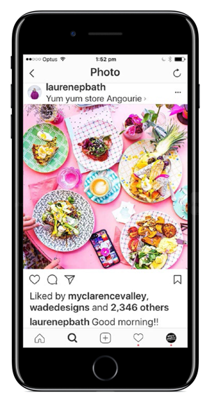 A 2017 instagram 'influencer' campaign saw Clarence Valley offerings receive over 340,000 views.