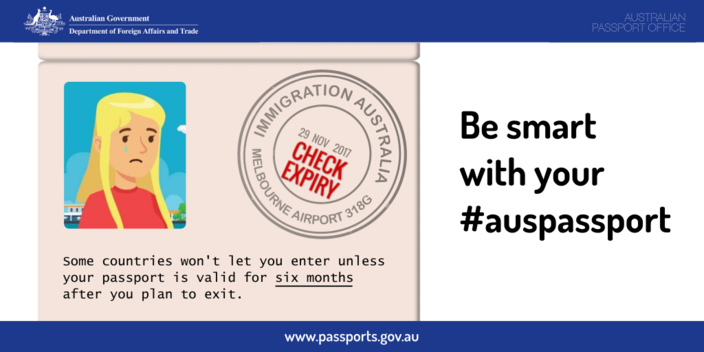 Be smart with your passport