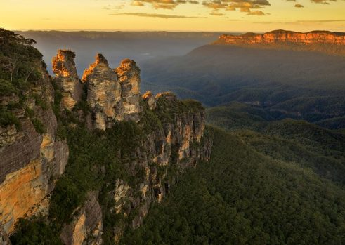 The Three Sisters in the Blue Mountains, NSW