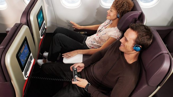 Virgin Atlantic Premium Economy. Image credit: Virgin Atlantic