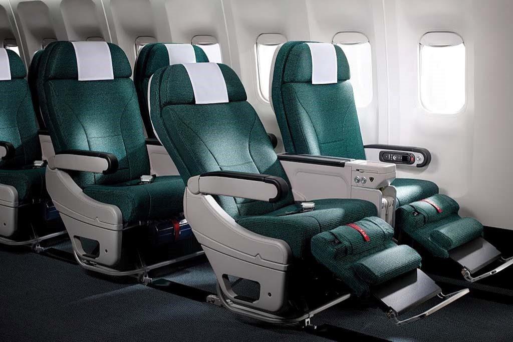 Cathay Pacific Premium Economy. Image credit: Cathay Pacific