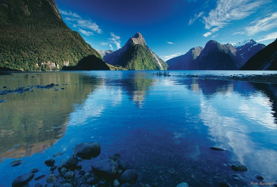 Milford Sound, Fjordland. Image credit: Rob Suisted
