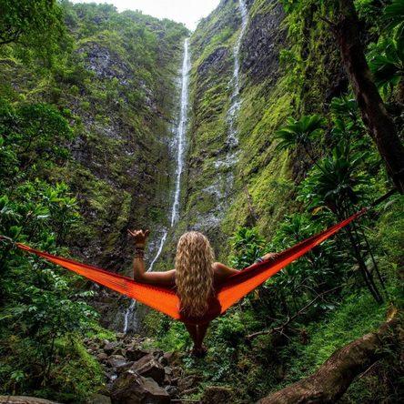 Jungle adventures in Oahu, Hawaii