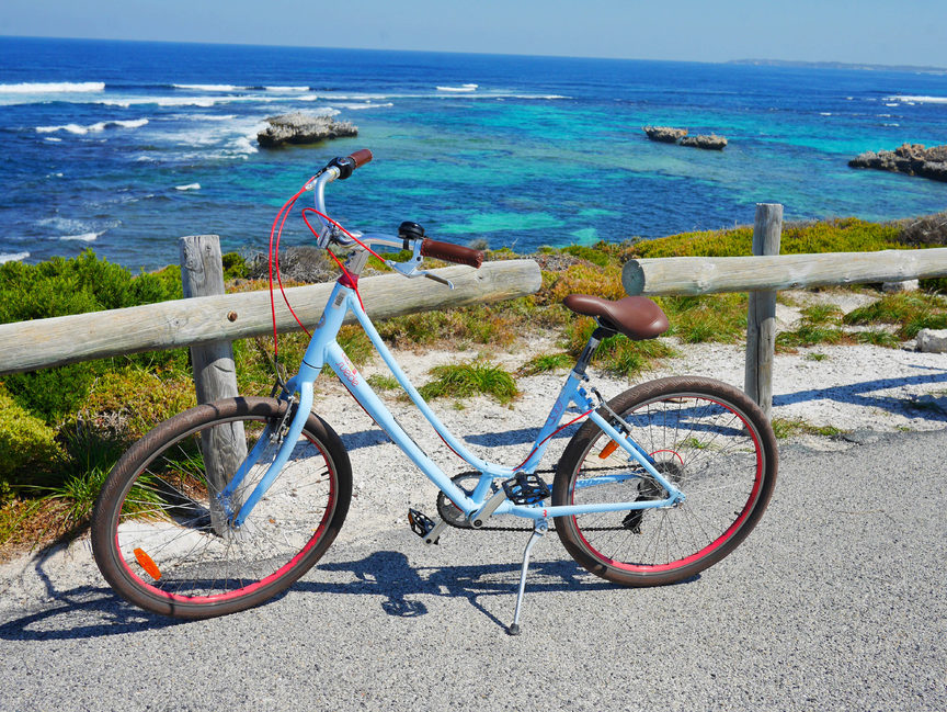 A great way to explore Rottness Island by bike