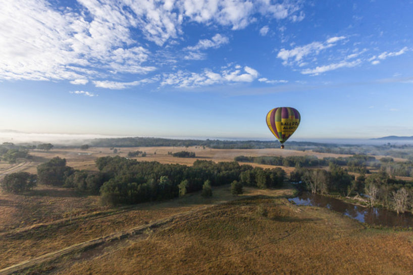 Ballooning, Hunter Valley