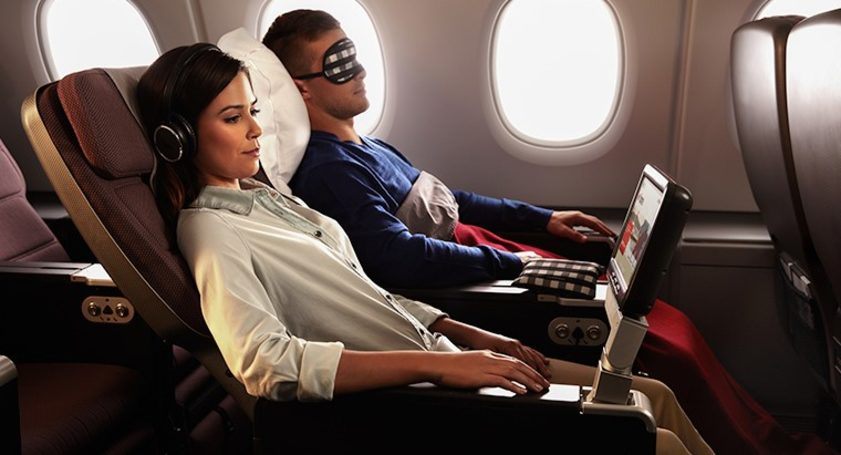 Qantas international Premium Economy. Image credit: Qantas
