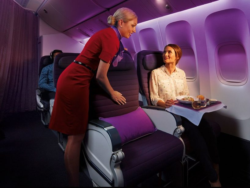 (Virgin Australia international Premium Economy. Image credit: Virgin Ausralia)