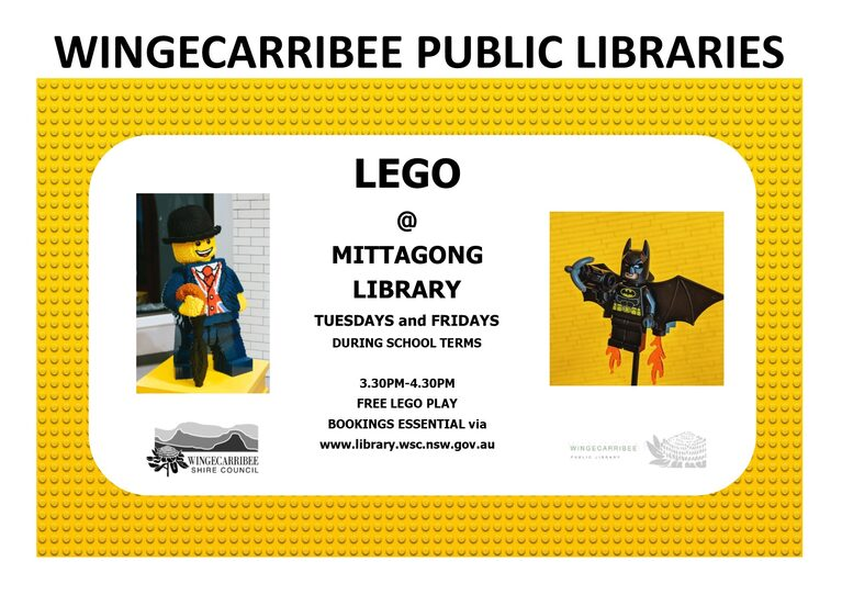 lego @ mittagong library