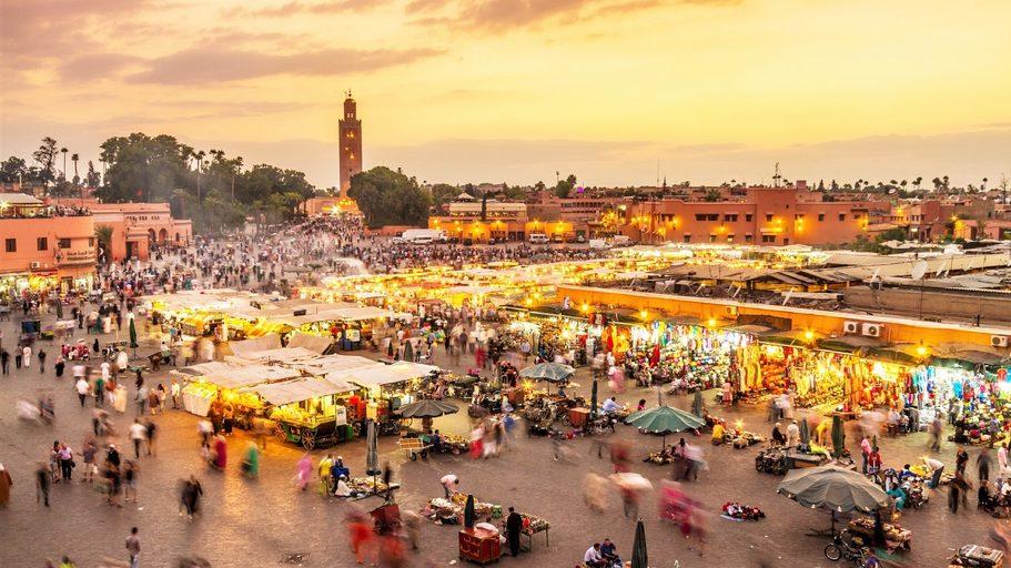 Marrakesh, Morocco. Credit: Shutterstock