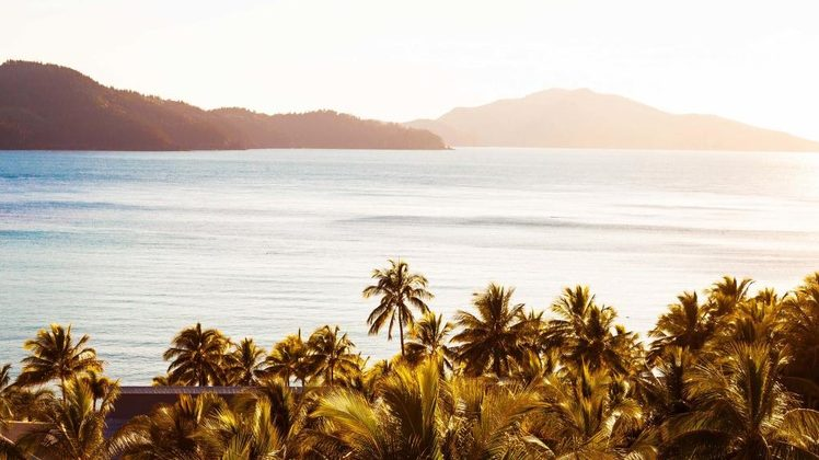The view over Catseye Beach, Hamilton Island. Credit: Hamilton Island.