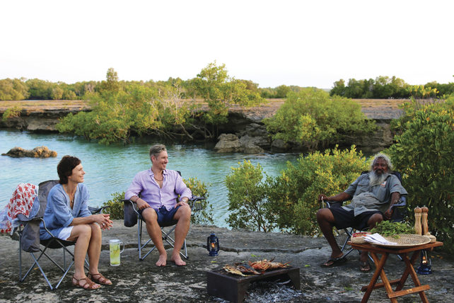 (BBQ Dinner, Dampier Peninsula – WA. Image credit: Tourism Australia)