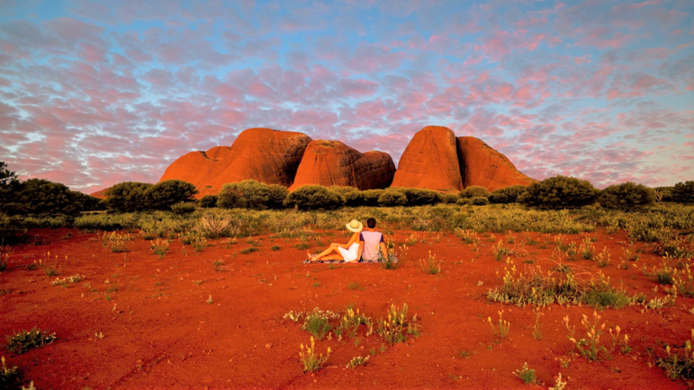 The stunning Red Centre. Credit: Tourism Australia.