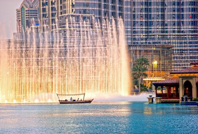 Dubai Fountain. Image credit: Dubai Tourism