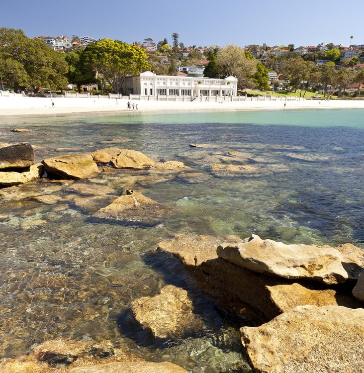 Bathers Pavilion from Rocky Point, Balmoral Beach, Mosman