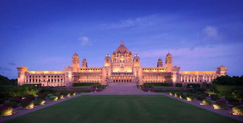 Umaid Bhawan Palace, Jodhpur. Image credit: Taj Umaid Bhawan Palace hotel