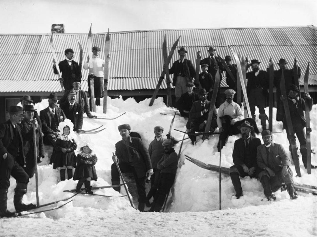 Kiandra Carnival, 1900. Image credit: Charles Kerry