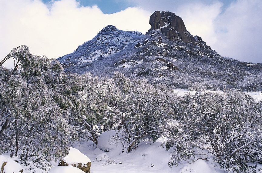 The Cathedral, Mount Buffalo. Image credit: Tourism Australia