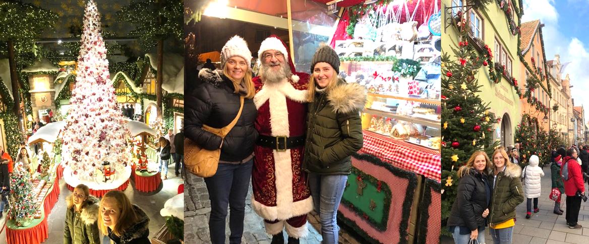 Sandi's festive Rothenburg experiences. Credit: Sandi McConnell.