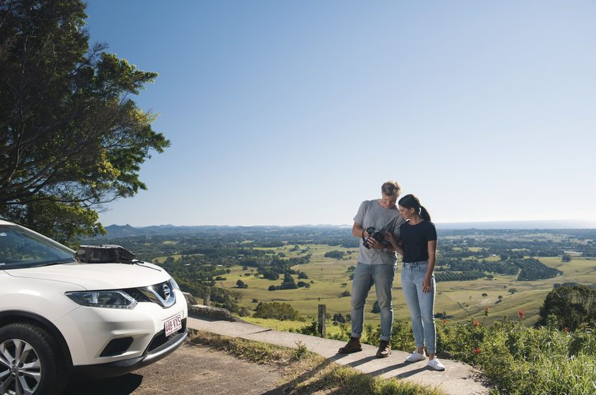 (Lookout on Coolamon Scenic Drive. Image credit: Destination NSW / Photographer: Trevor Worden)