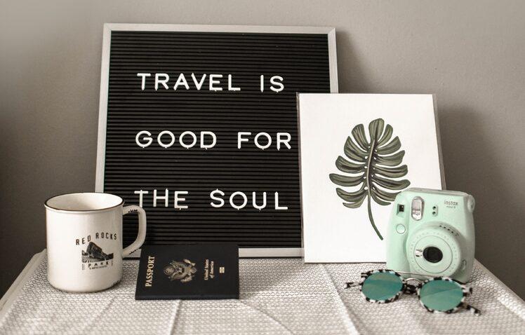 Travel heals.