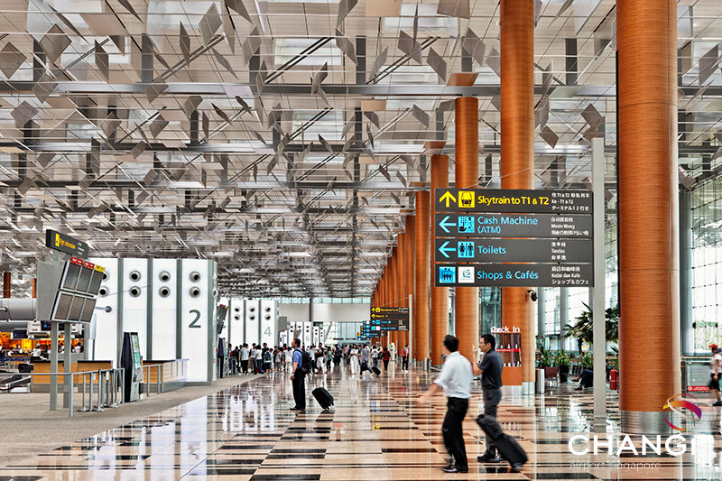 Image: Singapore Changi Airport. Credit: Singapore Changi Airport