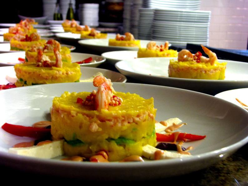(Modern Peruvian cuisine. Image credit: Peru Tourism Bureau)