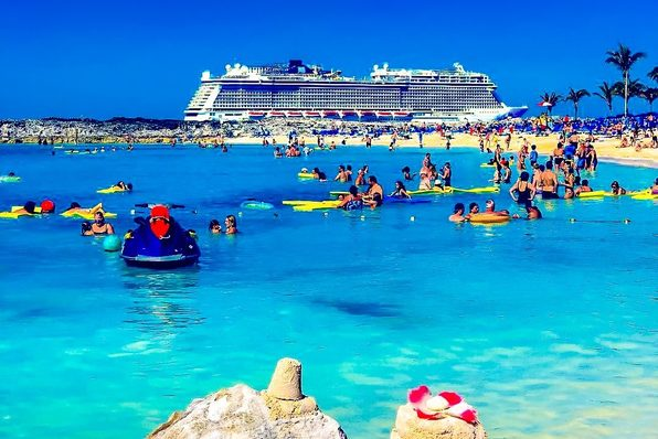 Image: Family fun on Great Stirrup Cay, Norwegian Cruise Line's 250-acre private Caribbean island oasis. Credit: Norwegian Cruise Line.