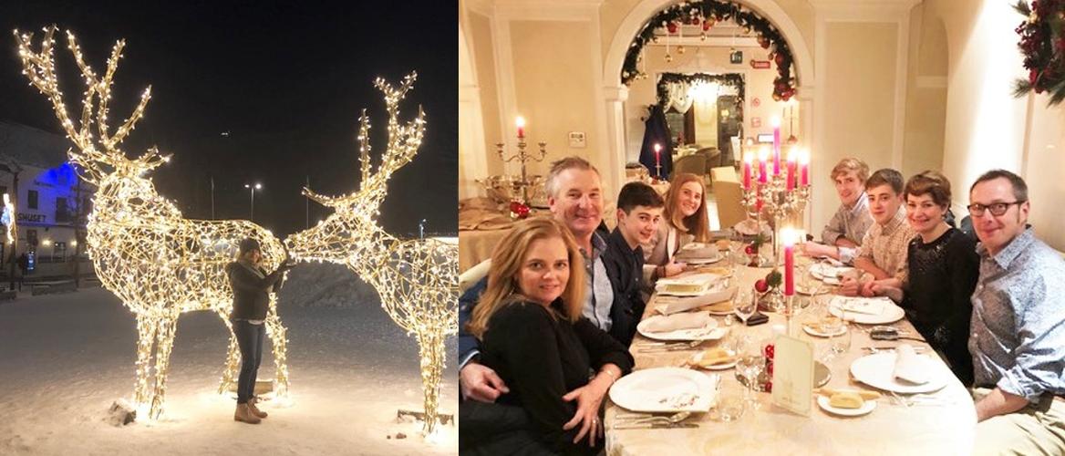 Sandi McConnell's European Christmases. Credit: Sandi McConnell.