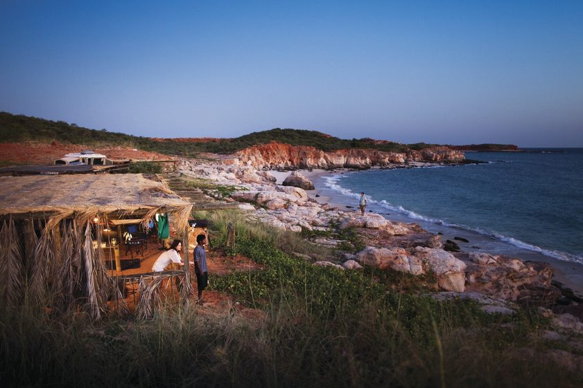 Indigenous experiences at Kooljaman, WA. Credit: James Fisher/Tourism Australia