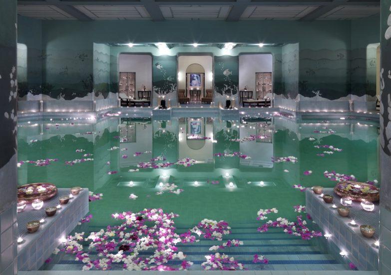 Umaid Bhawan Palace pool, Jodhpur. Image credit: Taj Umaid Bhawan Palace hotel