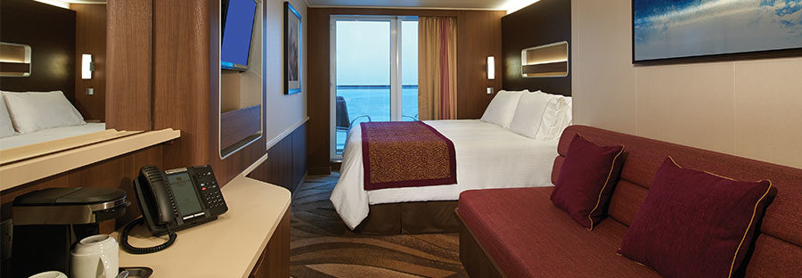 Image: Norwegian Cruise Lines Mini Suite. Credit: Norwegian Cruise Lines.