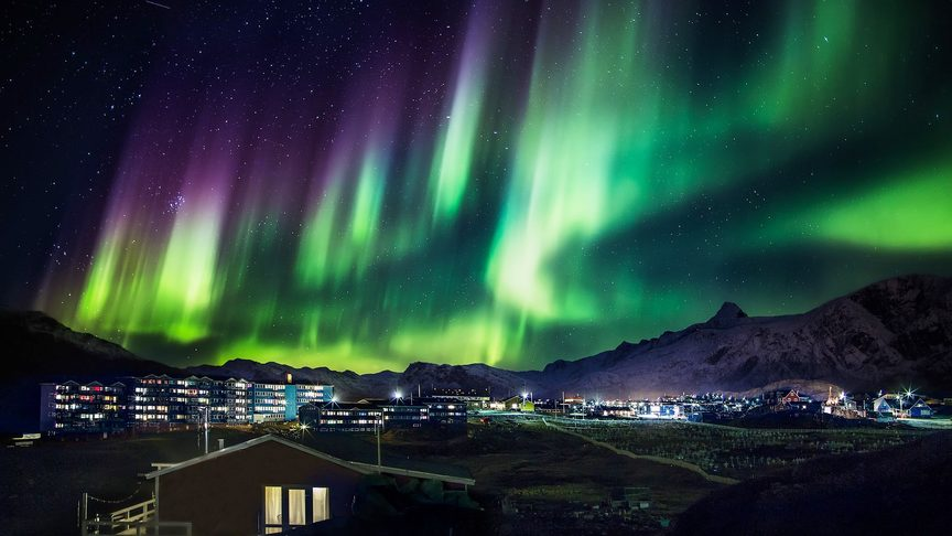 Image: Greenland's Aurora Borealis. Credit: Greenland Travel.