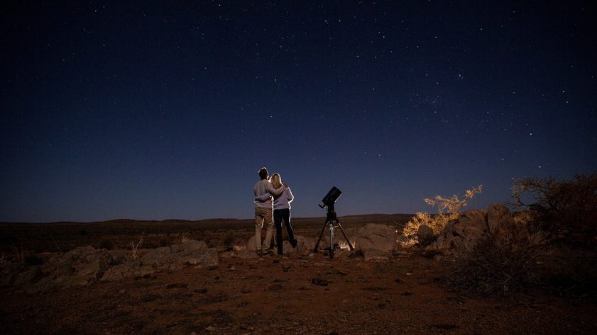 Outback Astronomy, Broken Hill. Credit: Destination NSW.