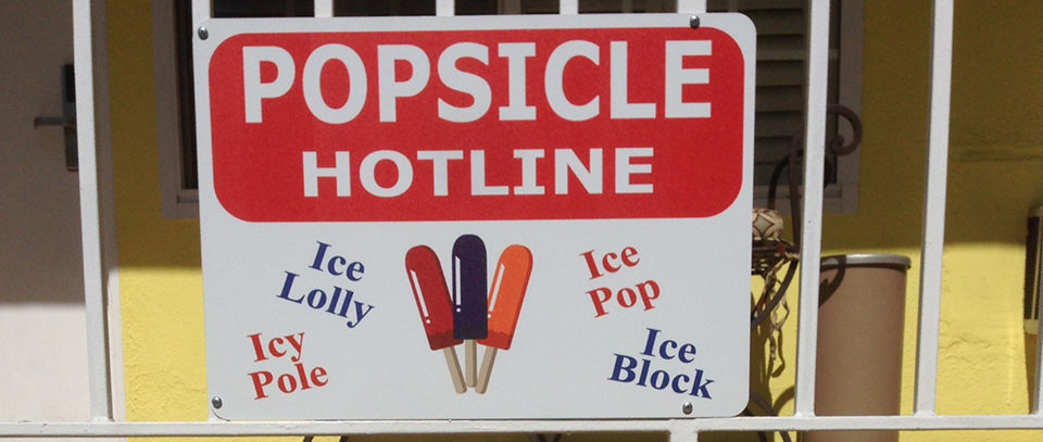(Magic Castle Hotel's famous popsicle hotline. Image credit: Magic Castle Hotel)