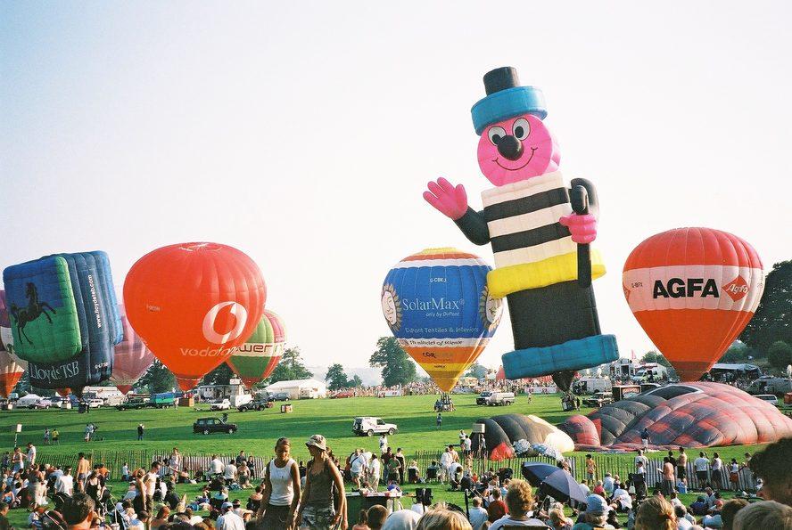 Image: Bristol International Balloon Fiesta. Credit: Karen Roe via Flickr