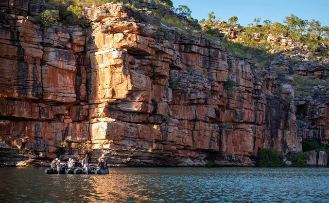 Beautiful Kimberley Coast Cruise with APT day excursion