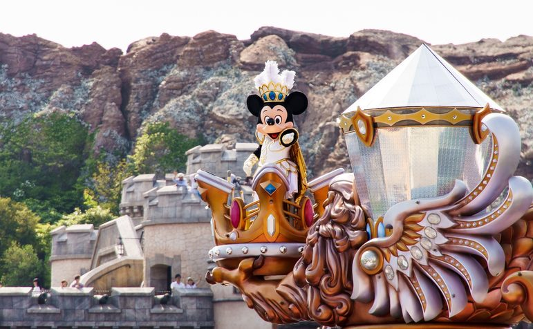 Disney Land, a fantasy land for young and old