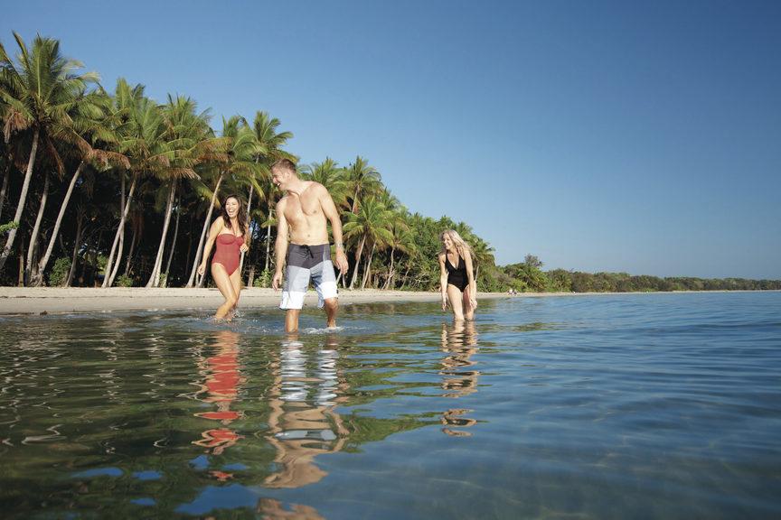 Four Mile Beach, Port Douglas QLD. Credit: Tourism Port Douglas and Daintree