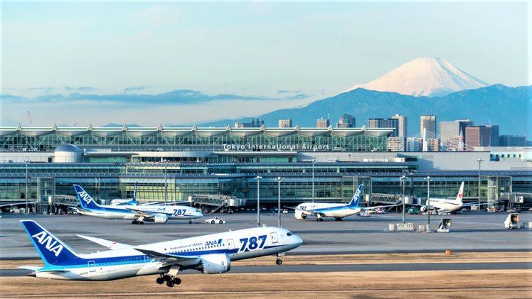 Tokyo's Haneda Airport. Credit: Japan Airports.