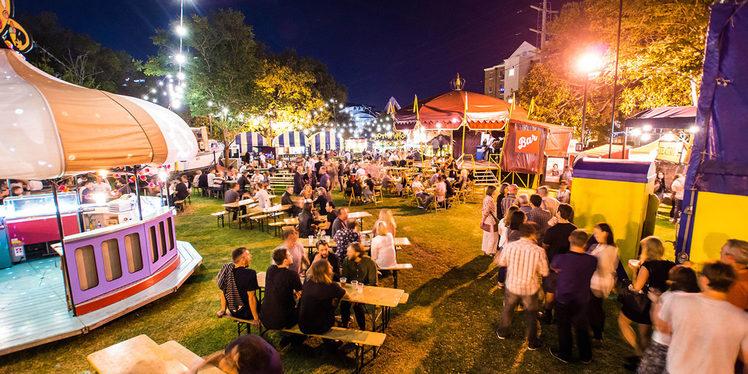 Chevron Festival Gardens venue at Perth Festival. Credit: Perth Festival