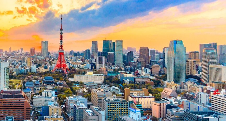Tokyo skyline. Credit: www.olympic.org/tokyo-2020
