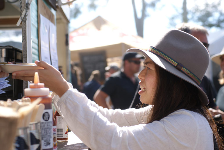 (Sample Food Festival, Bangalow. Image credit: Ben Alcock)