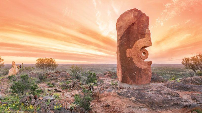 The Living Desert and Sculptures, Broken Hill. Credit: Destination NSW.