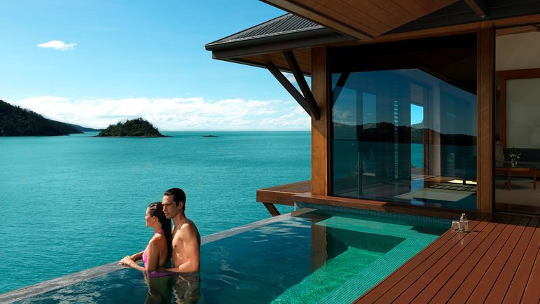 Image: Qualia Resort on Hamilton Island. Credit: Qualia Resort.